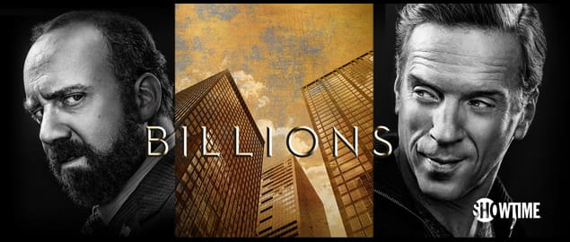 Billions TV Show Vitamin Drips